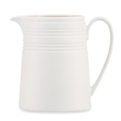 kate spade new york Fair Harbor Creamer in White Truffle