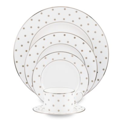 kate spade new york Larabee Road Platinum 5-Piece Place Setting