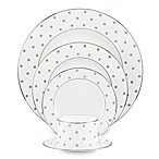 kate spade new york Larabee Road Dinnerware Collection in Platinum