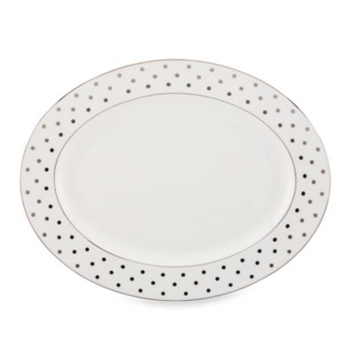 kate spade new york Larabee Road Platinum 16-Inch Serving Platter