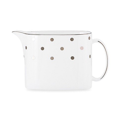 Kate spade new york larabee road platinum creamer bed for Bed bath and beyond kate spade