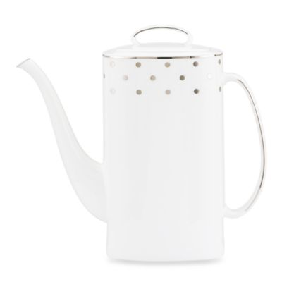 kate spade new york Larabee Road Platinum Coffeepot