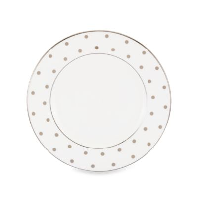 kate spade new york Larabee Road Platinum 8.5-Inch Salad Plate