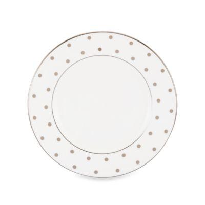 kate spade new york Larabee Road™ Platinum 8.5-Inch Salad Plate