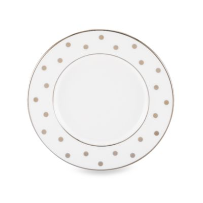 kate spade new york Larabee Road Platinum Saucer