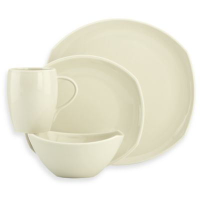 Dansk® Classic Fjord Colors Stoneware 4-Piece Place Setting in Khaki