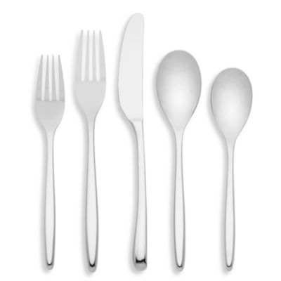 kate spade new york Tompk in s Street 5-piece Stainless Flatware Place Setting