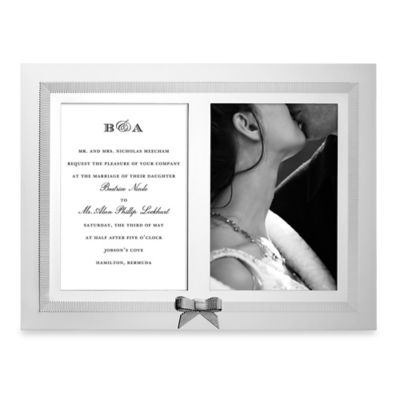 kate spade new york Grace Avenue™ Double Invitation Frame