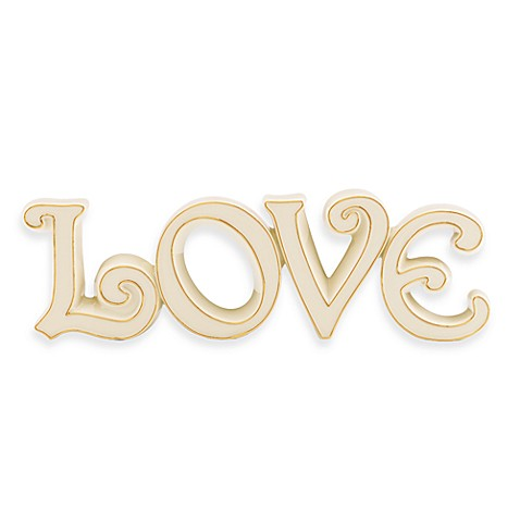 Lenox® Expressions Love Words to Live By Scultpure