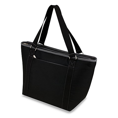 Picnic Time® Topanga Insulated Cooler Tote in Black