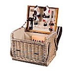 Picnic Time® Kabrio Willow Basket in Moka