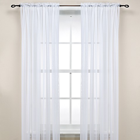 Bed Bath And Beyond White Curtain Rod