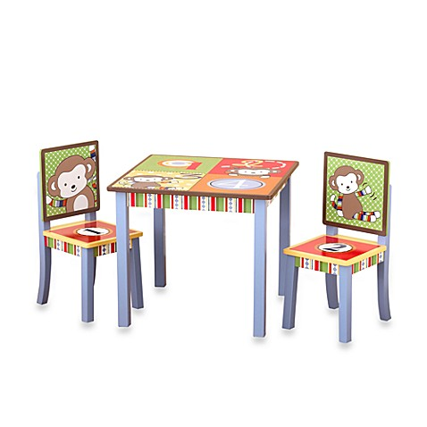 CoCaLo™ 4 Lil' Monkeys Table and Chairs Set