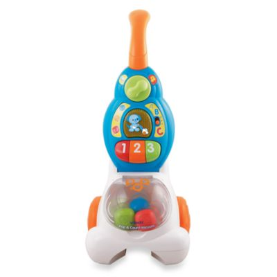 V-Tech® Pop and Count Toy Vacuum