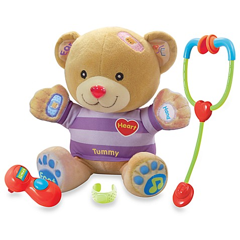 V-Tech® Care and Learn Teddy