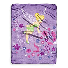 Children's Favorite Character Blanket in Tinkerbell