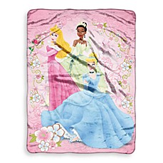 Children's Favorite Character Blanket in Princesses