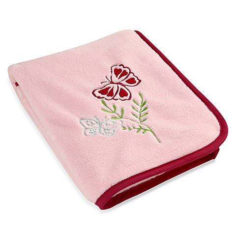 NoJo® Alexis Garden Fleece Blanket