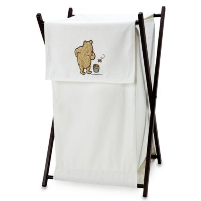 NoJo® My Friend Pooh Wooden Framed Hamper