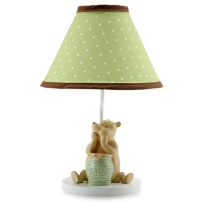 NoJo® My Friend Pooh Lamp and Shade
