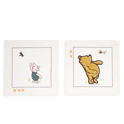 NoJo® My Friend Pooh 2-Piece Wall Art
