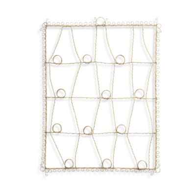 Glenna Jean Madison Antique Wire Cream Memory Board