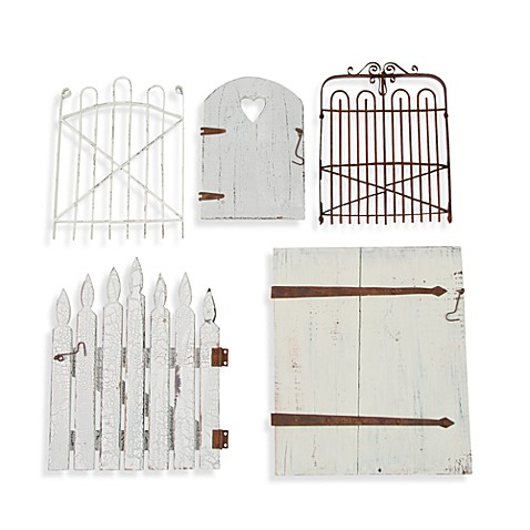 Glenna Jean Garden Gate Wall Art (Set of 5)