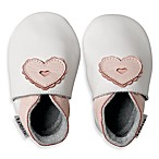 Bobux® White/Pink Heart Shoes