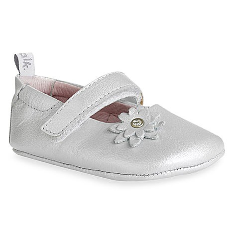 Bobux® Silver Ballet Shoes