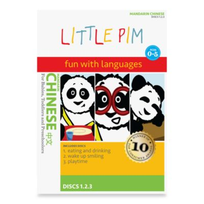 Little Pim®: Fun with Languages 3-Pack DVD-Inchinese Volume 1