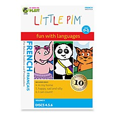 Little Pim® Fun with Languages 3-Pack DVD in French Volume 2