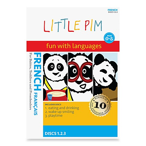 Little Pim® Fun with Languages 3-Pack DVD in French Volume 1