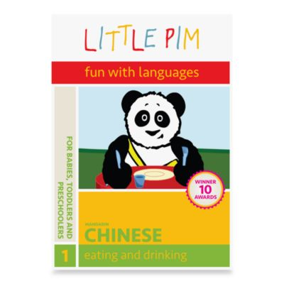 Little Pim®: Fun with Languages DVD-Inchinese-Eating