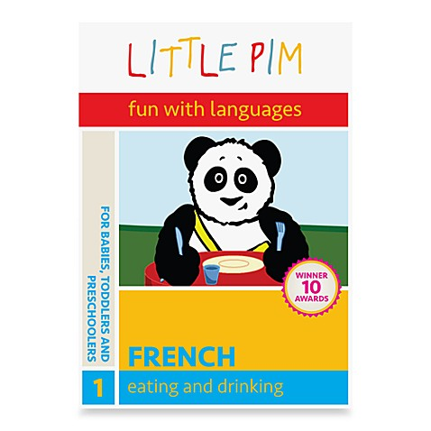 Little Pim® Fun with Languages Eating DVD in French