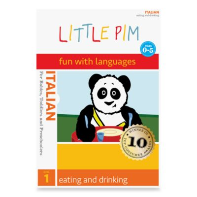 Little Pim®: Fun with Languages DVD in Italian in Eating