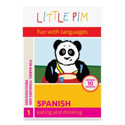 Little Pim® Fun with Languages 3-Pack DVD in Spanish Eating