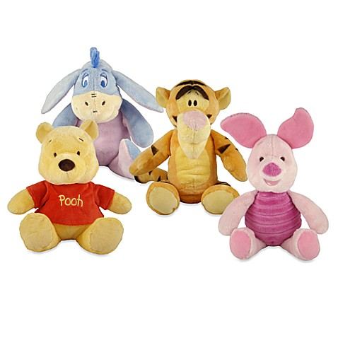 Disney Baby® Winnie the Pooh Primary Stuffed Animals