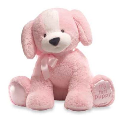 "Gund® 23"" First Puppy in Pink"