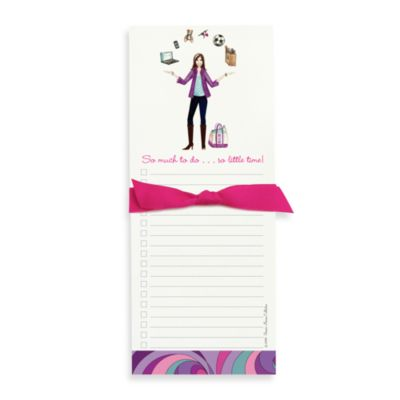 Bonnie Marcus Collection: Mom To-Do Juggling Note Pad
