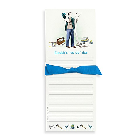Bonnie Marcus Collection: Daddy To-Do Note Pad