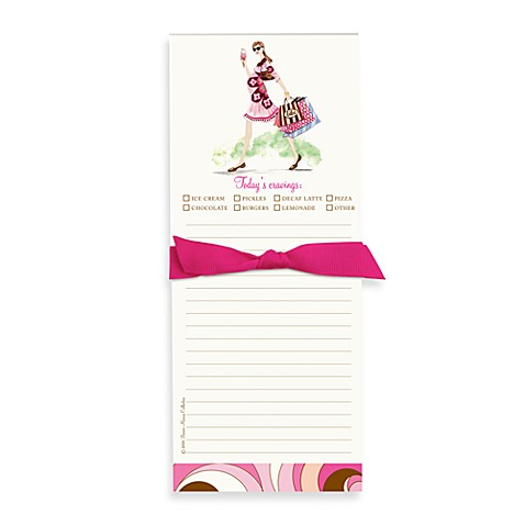 Bonnie Marcus Collection: Mom-to-Be Ice Cream Note Pad