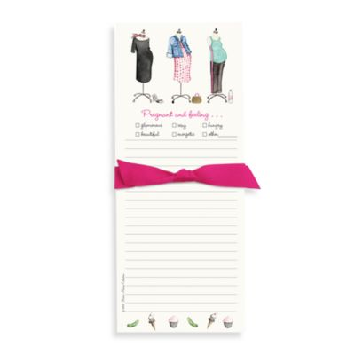 Bonnie Marcus Collection: Mom-to-Be Maternity Dresses Note Pad
