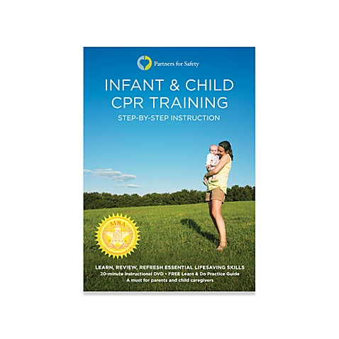 Infant & Child CPR Training DVD
