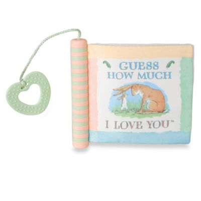 Kids Preferred Sensory Soft Book in Guess How Much I Love You?