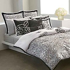 DKNY Modern Rose Mini Comforter Set