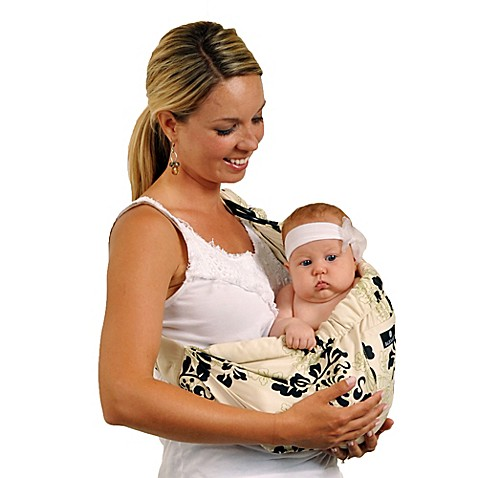 Balboa Baby® Dr. Sears Original Adjustable Baby Sling in Green Lola