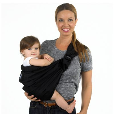 Balboa Baby® Dr. Sears Adjustable Sling in Signature Black