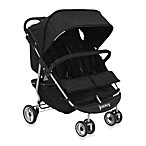 Joovy® ScooterX2 Double Stroller in Black