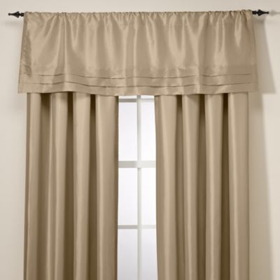 Argentina Tailored Valance in Linen