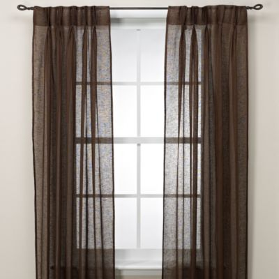 Cosmo Back Tab Pinch Pleat Window Curtain Panel